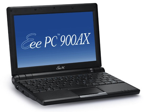 ASUS Eee PC 900AX resurrects 8.9-inch netbooks