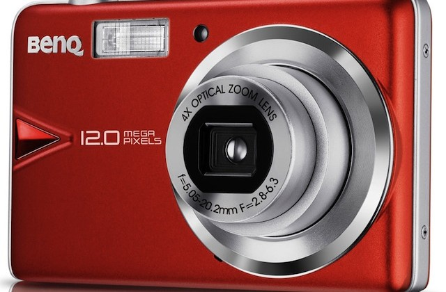 BenQ DC T1260 12MP touchscreen camera with high contrast processing spotted
