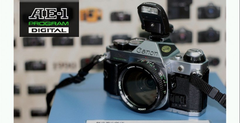 Canon AE-1 Digital mod rejuvenates classic SLR [Video]