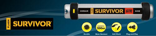 Corsair debuts Flash Survivor GTR flash drive