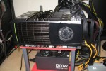 Quad NVIDIA GTX 480 rig: graphics prowess only exceeded by heat