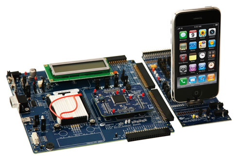 Cypress unveils new CY8CKIT-023 iPhone and iPod dev kit