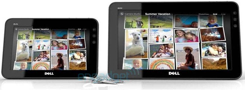 Dell Streak 7- and 10-inch tablets leak; AT&T Aero drops June