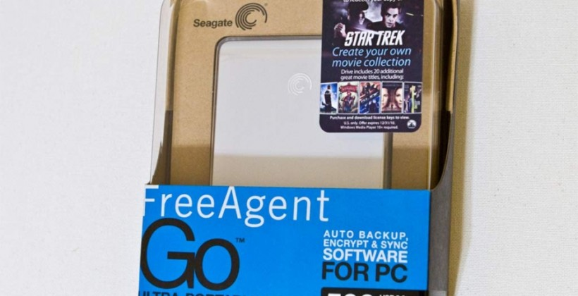 Seagate FreeAgent Go HDD gets Paramount movie pre-load