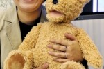 Fujitsu bear robot tracks facial expressions, wants to love your grandma