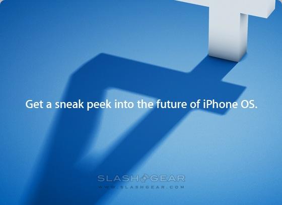 "iPhone OS 4.0 ""sneak peek"" event April 8th 2010"