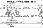 Maingear Vybe packs AMD Phenom II X6 CPU