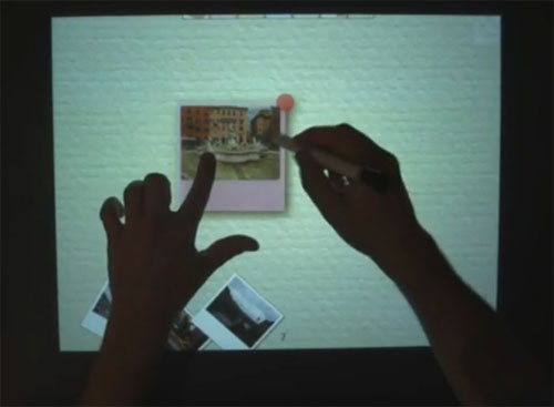 Microsoft Research combines touch and pen input for computing sweetness