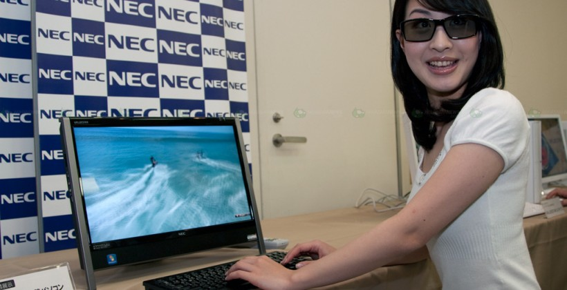 NEC 3D all-in-one PC due by end of 2010