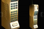 Prive gold and diamond encrusted phone is straight from the 80′s