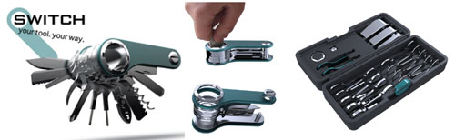 Quirky Switch modular Swiss Army knife debuts