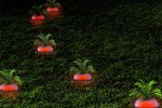 Ripe Radish garden lights are oddly cool