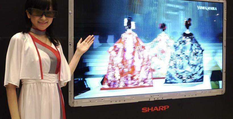 Sharp Quatron 3D LCD HDTVs arriving this summer