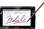 Sharp NetWalker PC-T1 drops QWERTY, gains handwriting recognition