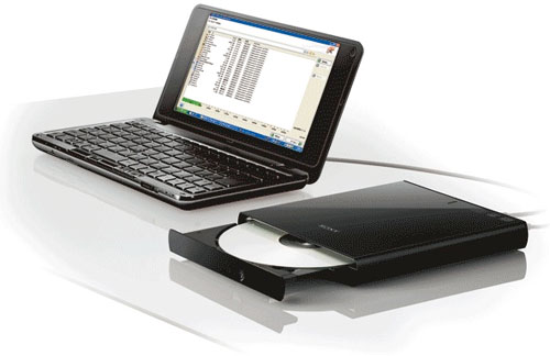 Sony Optiarc offers new external DRX-S77U and internal AD-7260S DVD burners