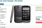 Vodafone Nexus One hits UK April 30th