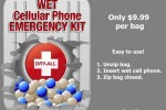 Dry-All Wet Cell Phone Emergency Kit might save your phone