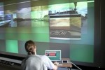 22 Megapixel Laptop drives huge multitouch wall [Video]