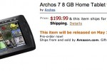 Archos 7 Home Tablet ships May 17th for $200
