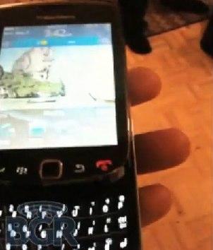 BlackBerry Bold 9800 slider video leaks