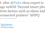 HP Promises webOS Will Appear on Slates and Web-Connected Printers