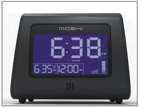 Moshi Voice Control Digital Clock Radio Makes Waking Up a Lot Harder