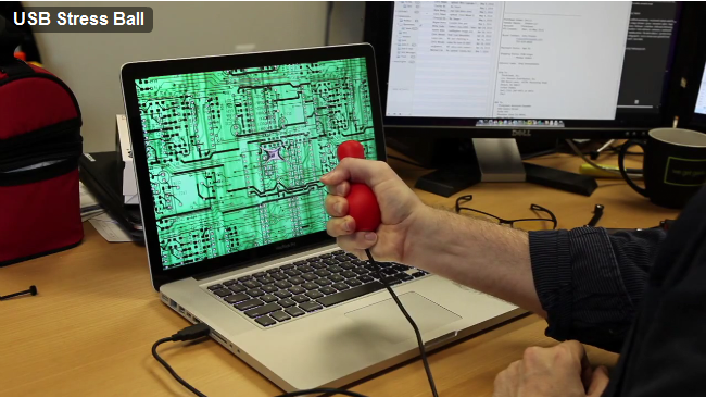 USB Stress Ball Calms You Down by Letting You Crush Your Email [Video]
