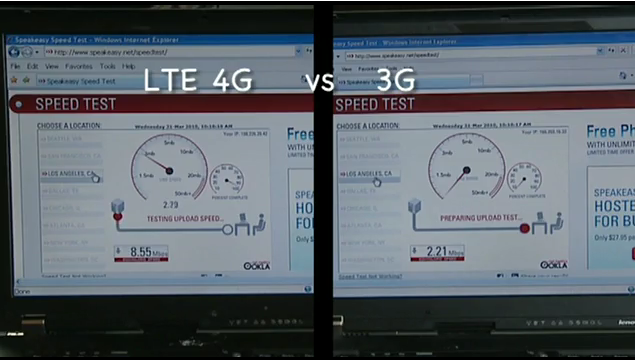 Verizon Wireless Tests LTE in Boston and Wows the Crowd [Video]