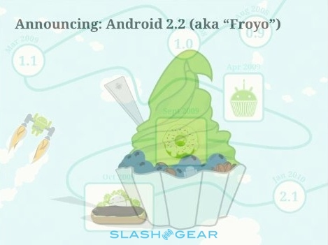 Android 2.2 Froyo for Nexus One released