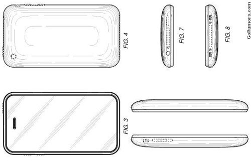 Apple granted patent for iPhone design sans home button