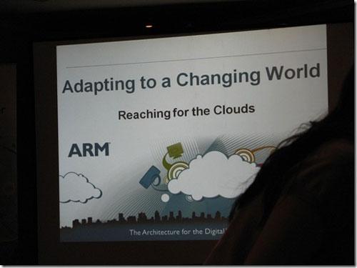 ARM Eagle next generation core at Computex 2010