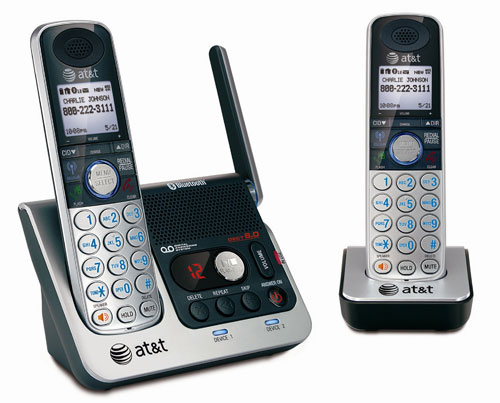 AT&T debuts TL86109 cordless phone with Bluetooth