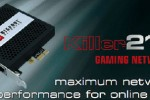 Bigfoot Networks whips out Killer 2100 gaming network card