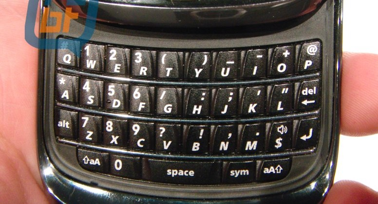 No SurePress for BlackBerry Bold 9800 slider