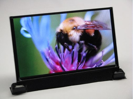 50-inch DuPont OLED display printed in under two minutes