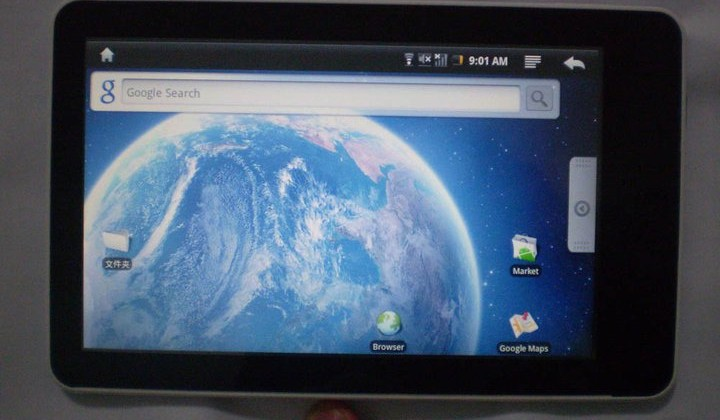 Encipher Android tablet pushes cloud services