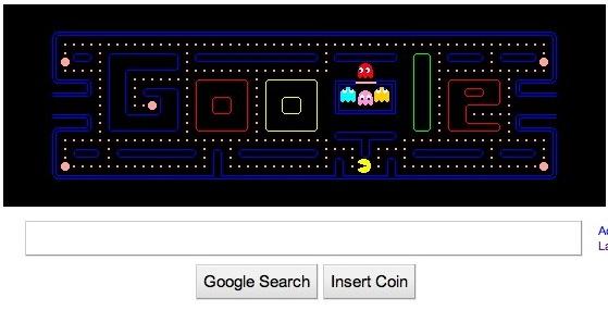 Google Pac-Man logo is retro-awesome