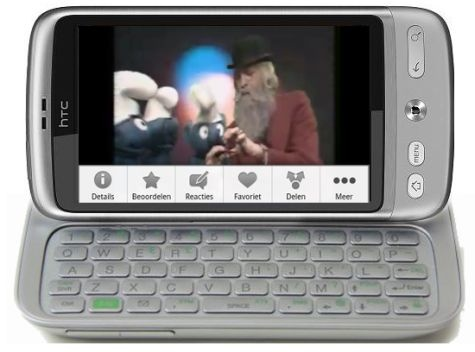 HTC Vision Android QWERTY phone tipped, plus HTC LED and Glacier