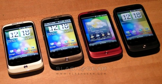 HTC Wildfire arriving T-Mobile and Virgin Mobile in June