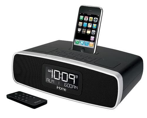 iHome updates iP90 iPhone/iPod alarm clock for 2010