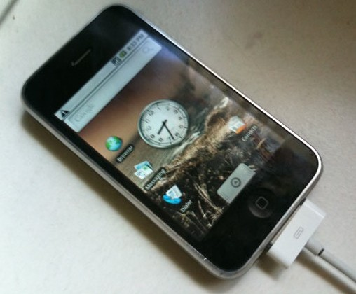 iPhone 3G Android hack [Video]