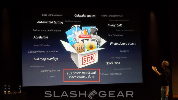 iPhone HD to record 720p HD video tips OS 4.0 SDK
