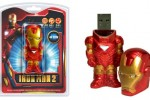 Tyme Machines unveils Ironman sculpted flash drive