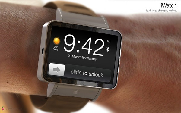 Apple iWatch concept packs pico-projector & touchscreen