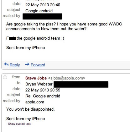 "Jobs: ""You won't be disappointed"" by WWDC 2010"