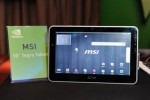 MSI Slatebook Windows 7 tablet at Computex; Tegra 2 M Pad still in development