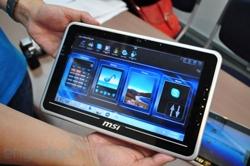 MSI WindPad 100 and 110 tablets surface at Computex 2010