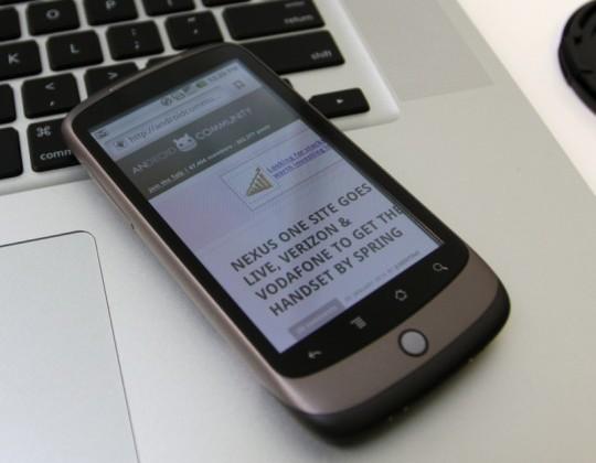 Nexus One Android 2.2 Froyo update tutorials