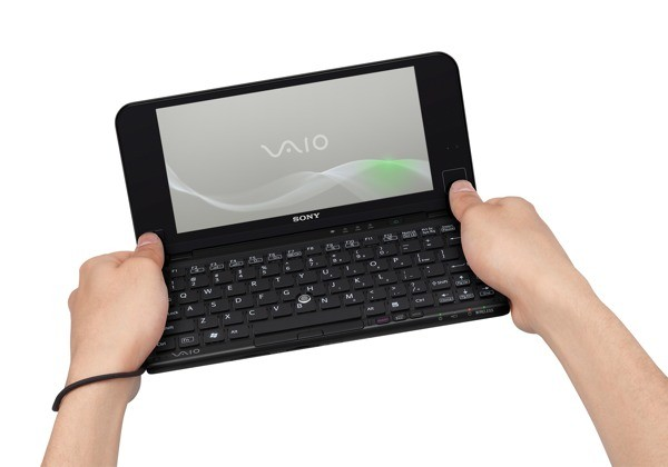 Sony VAIO P refreshed: 3G, accelerometer & more
