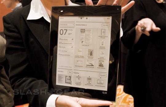 Plastic Logic color e-paper headed for 2012 volume production
